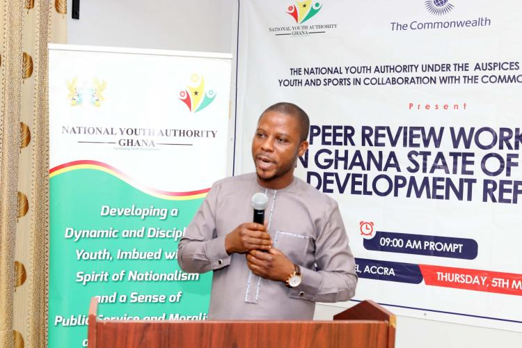 CEO Of NYA at the stakeholders review
