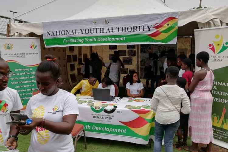 National Youth Authority holds a one-day exhibition